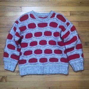 Handmade Hand Knit Chunky Oversized Sweater
